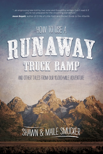 How to Use a Runaway Truck Ramp, by Shawn and Maile Smucker is a wonderful, modern family adventure that covers just as much emotional and spiritual ground as it does actual miles put on the old bus, Willie.