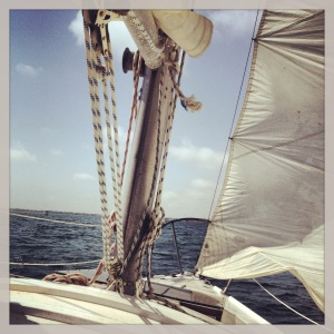 "Our latest ""some day"" that has turned into a ""today""...we are now the owners of a Columbia 7.6m (25ft) sailboat."