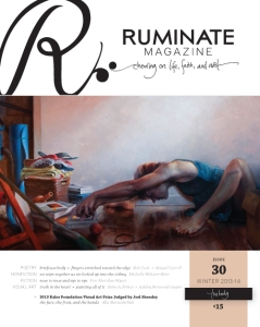 "Issue 30 of Ruminate Magazine is centered around the theme of ""The Body"" and it features my short story, Dog Years"
